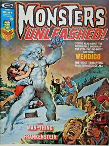 mm Monsters Unleashed (1973, Mag) #9nm- Frankenstein