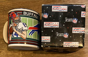 BUFFALO BILLS *Vintage*  NFL Football Coffee Mug! Sports Impressions 1992 NIB!
