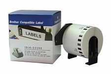 DK22205 Compatible for Brother Printer Labels 62mm X 30.48m Roll+Spool for QL570
