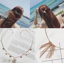 Femme Épingles Cheveux Barrettes Serre-tête Bandeau Strass Perles Fleur Coiffure