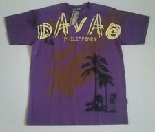 DAVAO Philippines Purple T-Shirt By ISLAND TOUR! New With Otlriginal Tag!