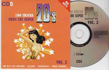 CD CARDSLEEVE 70' S 20T BAY CITY ROLLERS/DELEGATION/MELANIE/GAYNOR