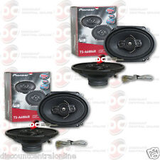 "4 x PIONEER TS-A6886R 5 x 7""/ 6 x 8"" 4-WAY CAR AUDIO COAXIAL SPEAKERS"