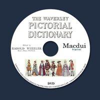 The Waverley pictorial dictionary byH. F. Baker Wheeler - 8 PDF E-Books 1 DVD