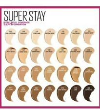 (2) Maybelline Superstay Full Coverage Liquid Foundation *CHOOSE YOUR COLOR* NEW