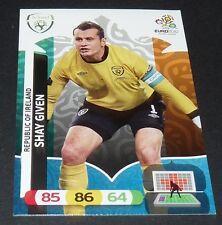 SHAY GIVEN REPUBLIC OF IRELAND EIRE FOOTBALL CARD PANINI UEFA EURO 2012