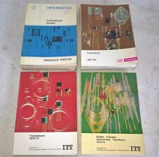 4x ITT Standard Intermetall Katalog Transistoren Datenbuch 1965-1974 Catalog