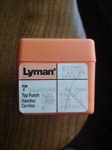 NEW LYMAN 44 Magnum Mold Flat Nose GC 275 Grains Pistol Bullet Mould Cavity Mag
