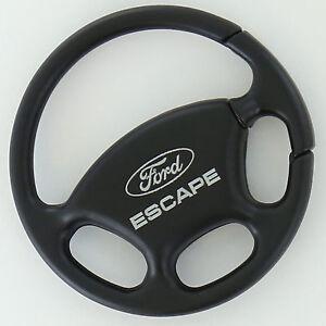 Ford Escape Black Steering Wheel Key Ring