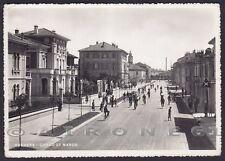 PAVIA VOGHERA 62 CARRETTINO GELATI Cartolina FOTOGRAFICA viaggiata 1950