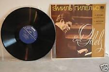 BEETHOVEN Piano Concerto n.1 GILELS/SZELL Melodiya 33C 01795-96 LP