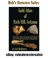 Gold Atlas of Rich Hill, Arizona Book - Gold Mining / Gold Nugget Prospecting