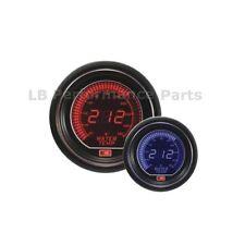 60mm Stealth Azul/rojo Lcd Digital Temperatura Del Agua Gauge Para Evo Subaru Nissan