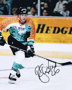 Rocket Ron Shudra HAND SIGNED Sheffield Steelers Legend Photo AFTAL Genuine COA