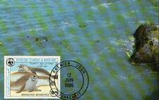 (70517) Maxicard - Mauritania - Seal - 1986