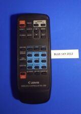 CANON CAMCORDER REMOTE CONTROL WL-D80 for ZR60
