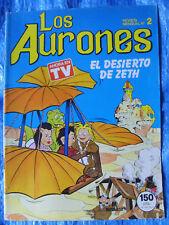 Comic Los Aurones - Numero 2 - El Desierto De Zeth - Multilibro S.A 1987