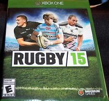 RUGBY 15 XBOX ONE WALMART RECONDITIONED VIDEO GAME FREE SHIPPING 2014 SEALED