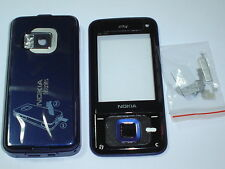 new  nokia n81  8gb blue cover  housing keypad set