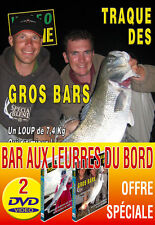 Lot 2 DVD Vidéo Pêche Bar du Bord - Peche en Mer