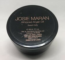 JOSIE MARAN WHIPPED ARGAN OIL BODY BUTTER LOTION SWEET HOLLY 2 OZ NEW SEALED!