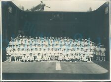More details for 1947 officers hms ocean group photo 816 squadron and crew  malta 8x5.7