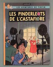 Tintin en Picard Tournaisien Pinderloets de l'Castafiore Herge Casterman