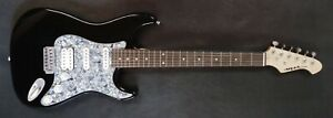 New Aria STG Series Electric Guitar Black Rosewood Fretboard Whammy Bar Active