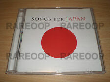 Songs for Japan (2CD) Shakira Lennon U2 Justin Bieber Enya Foo Fighters Queen