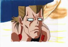 Jojo's Bizarre Adventure Anime Cel Douga Polnareff Close-up Araki 1993 OVA