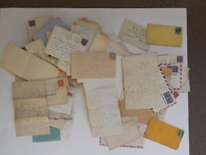 132 Old Letters 1800s-70s Correspondence Lot Collection Papers Covers Stamps VTG