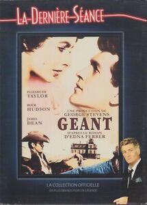 Geant Dvd Edition Derniere Seance Eddy Mitchell James Dean Elizabeth Taylor