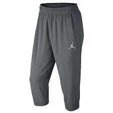 NIKE Jordan Ultimate Flight Pants sz M Medium Cool Grey Jogging Trousers Dri-FIT