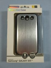 Case Logic Samsung Galaxy S3 SIII Protective Case Metallic Silver Genuine NEW