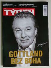 Karel Gott 1939 - 2019 Magazine TYDEN Gottland bez boha