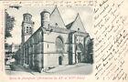 PIERREFONDS église timbrée 1901