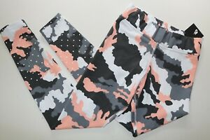 NIKE SPORTSWEAR WOMEN GRAPHIC CAMO PRINT COTTON LEGGINGS - AH4142-100 - S