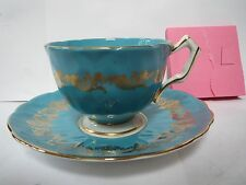 AYNSLEY TEA CUP AND SAUCER              L
