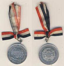 Medaille 25. Wiederkehr der Glorreichen Schlachten 1870/71 - Alu Ø ca. 35 mm