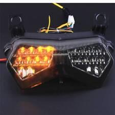 Fit Kawasaki Ninja ZX6R 2003-2004 LED Brake Turn Signal Rear Tail Light Smoke