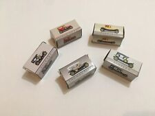 Lot Of 5 Vintage Miniature Cars Pierce Arrow Alco Buick Peerless Toy Size
