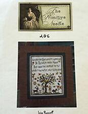 Rare & OOP by The Primitive Needle - A&E - Prim Adam & Eve design