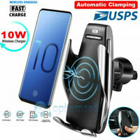360 Degree Wireless Automatic Sensor Car Phone Holder and Charger 2 in1