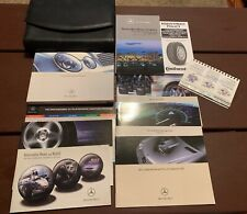 2003 Mercedes Benz E Class Owners Manual With Case OEM Free Shipping