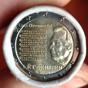 "2 euro commémorative Luxembourg 2013 "" Hymne""  NEUVE UNC"