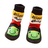 1 Pair Unisex Baby Kids Toddler Girl Boy Warm Soft Anti-Slip Socks Shoe Slipper