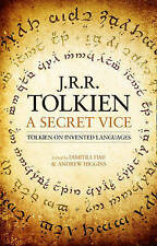 A Secret Vice: Tolkien on Invented Languages by J. R. R. Tolkien (Hardback,...