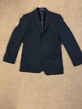 Chaps Youth Suit Jacket Black Sz 16