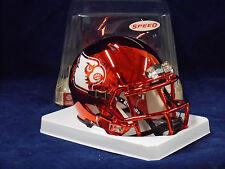Louisville Cardinals Red Chrome Riddell NCAA College Football Speed Mini Helmet