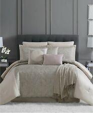Pem America Queen Comforter Set Astor 10 Piece Beige T97169